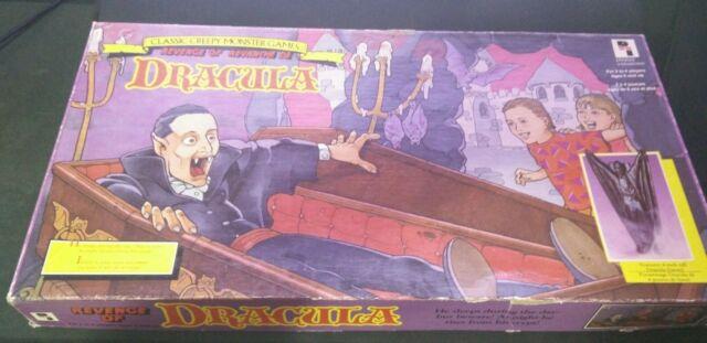 Revenge Of Dracula Classic Creepy Monster Games 1991 Pressman #4027 Board Game