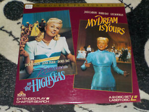 Romance-On-The-Alta-Seas-il-Mio-Sogno-Is-Yours-Laserdisc-Ld-Doris-Day
