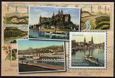 Bund Block 78 ** 175 Jahre Sächsische Dampfschifffahrt