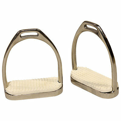 4.75 Centaur Stainless Steel Jointed Stirrup Irons
