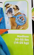 with pockets and bag dispenser Medium Owl Strong good quality dog harness