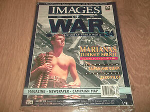 IMAGES-OF-WAR-1939-1945-34-MAGAZINE-NEWSPAPER-amp-CAMPAIGN-MAP-EXCELLENT