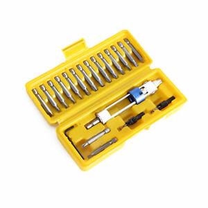 Swap-Drill-Bit-Tool-Set-Half-Time-Drill-Driver-Screwdriver-Head-Tools-20pc-Kit