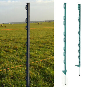 3//4 FT Green Post Deals Electric Fence Post Poles Horse Paddock Home Garden