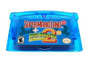 Super-Mario-Land-DX-1-and-2-Combo-Multicart-Deluxe-Nintendo-Gameboy-Advance-GBA