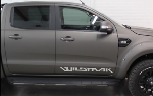 Ranger Graphics Wildtrack Decal Vinyl Any Colour x2 Vehicle Parts ...