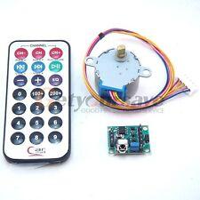 DC 5v 4-phase 5-wire Stepper Motor+Driver Board+Remote Control Wireless RC