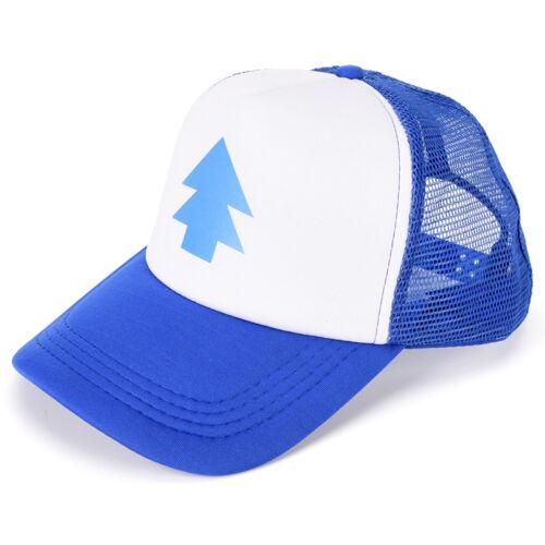 Women Trucker Baseball Cap Pine Tree Dipper Gravity Fall Mesh Cap^YJ