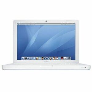Apple-MacBook-MB061LLB-13-3-034-Intel-C2D-T7200-2-0GHz-1GB-RAM-80GB-Combo-OSX-10-5