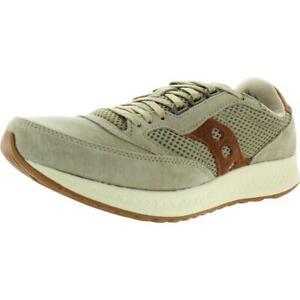 Saucony-Mens-Freedom-Runner-Tan-Running-Shoes-Sneakers-7-Medium-D-BHFO-4411