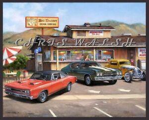 Fine Art Prints By artist Chris Walsh 2 Big Daddy's Niles Ca