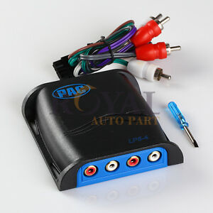 PAC-LP5-4-LOC-PRO-High-Low-RCA-Interface-4-channel-amplifier-Converter-regulated