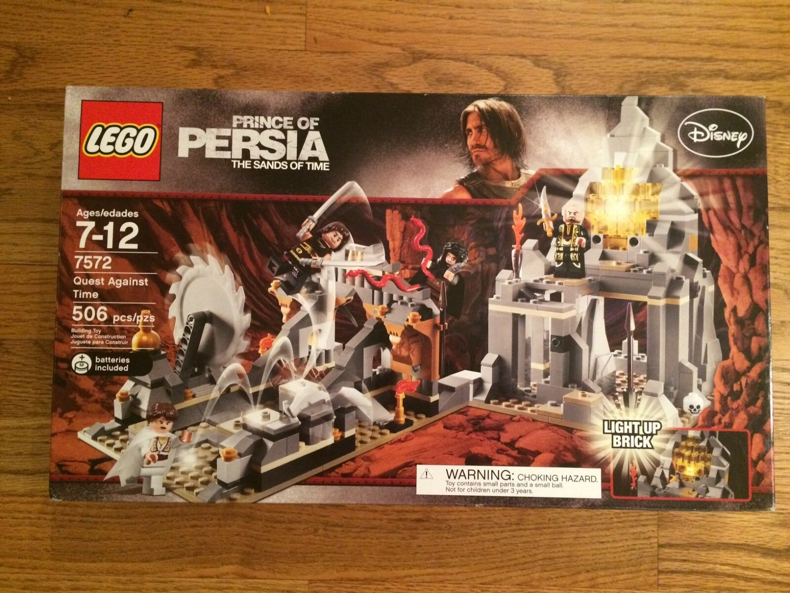 LEGO 7572 Quest Against Time from Prince of Persia series New in Box