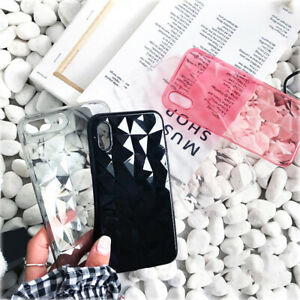 Luxury-Crystal-3D-Diamond-Clear-Case-For-iPhone-Soft-TPU-Phone-Cover-Kc