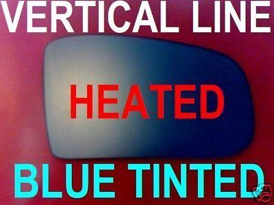MERCEDES W220 S-CLASS 1998-05 WING MIRROR GLASS BLUE HEATED