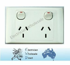 Double-Power-Point-GPO-Outlet-Switch-Electrical-2000-Series-Style