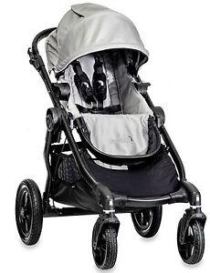Baby-Jogger-City-Select-All-Terrain-Single-Stroller-Black-Frame-Silver-NEW