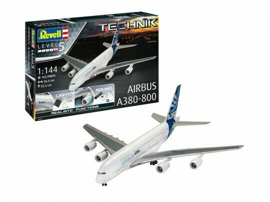 Airbus A380-800 Plastic Kit 1 144 Model 00453 REVELL