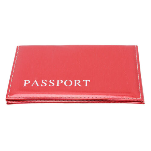 PU Leather Passport Holder Traveling Passport Cover Case Card /& ID Holders Bag F