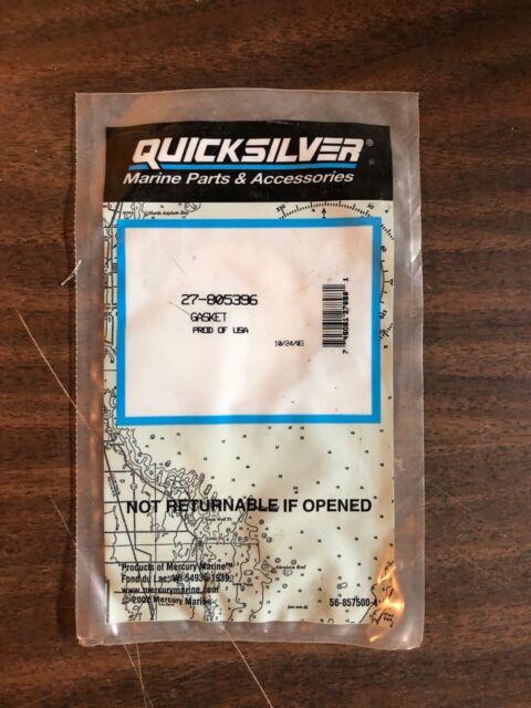 New Mercury Mercruiser Quicksilver Oem Part # 27-805396 Gasket