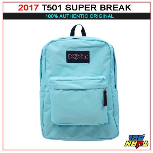 2018 AUTHENTIC JANSPORT T501 Classic Superbreak Backpack Ultralight School Bag