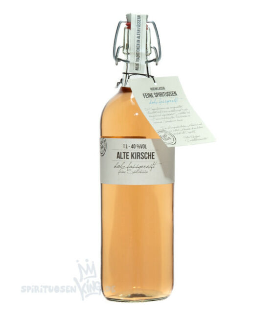 Birkenhof Alte Kirsche  40% Vol. - 1,0 Liter-Flasche Spirituose Kirschschnaps