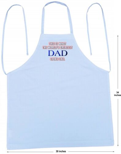 Chef Aprons For Men World/'s Greatest Dad Novelty Cooking Apron by CoolAprons