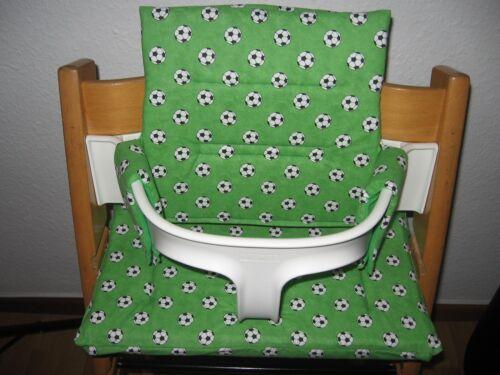 SEHR DICK Sitzkissen Sitzbezug Set für den STOKE Tripp Trapp Handarbeit NEU!