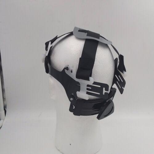 NEW PARADISE LOST SKULLS  GUNMETAL NEW FULL BRIM Hard Hat custom hydro dipped