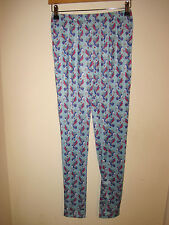 Irregular Choice blue Chi Chi leggings 10-12 New small to medium kawaii kitsch