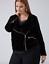 Lane-Bryant-Velvet-Moto-Jacket-Womens-Plus-18-20-Black-Spring-Fall-2x thumbnail 5