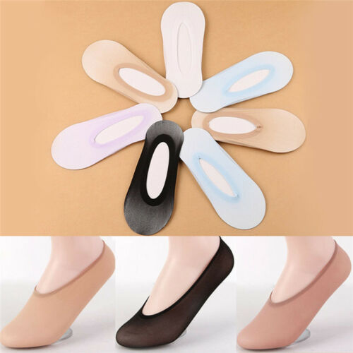 10 Pairs Adults Womens Invisible Liner Trainer No Show Footsies Secret Socks FO