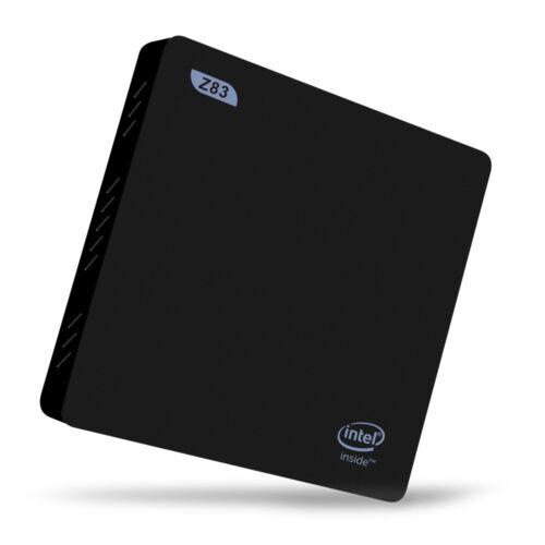 Z83II Mini PC Intel Atom X5-Z8350 Windows 10 12V//1.5A 5G WiFi Quad Core 2GB+32GB