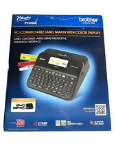 New Brother Pt D600 P Touch Pc Connectable Label Maker Color Display Ptd600 Nib