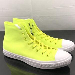 944d530b0a8fe9 Converse CT II HI 150157C Volt Yellow Neon Chuck Taylor ALL STAR SZ ...