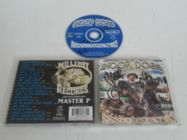 Snoop Dogg / Da Game Is To Be Sold , Not To Be Told CD Álbum