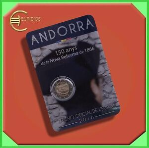 2-Euro-Gedenkmuenzen-Coins-2016-Andorra-034-Neue-Reform-von-1866-034-BU-Coincard