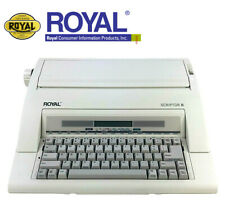 Royal Scriptor 2 Ii Electronic Typewriter Ax 160 Portable Tested Functions Great