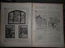 1902 Mannheim Bootshaus Rudern Glasfenster Wien Stadtbahn (ohne Bericht)