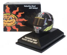 Minichamps 1.8th Scale Valentino Rossi Winter test Helmet MOTOGP 2007.