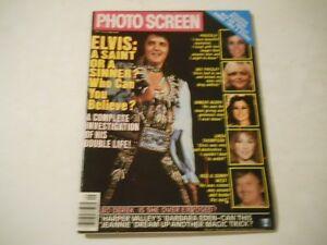 Elvis-Presley-Angie-Dickinson-Barbara-Eden-Photo-Screen-Magazine-1980