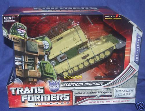 Transformers Universe DROPSHOT Voyager Class Factory Sealed New 2008