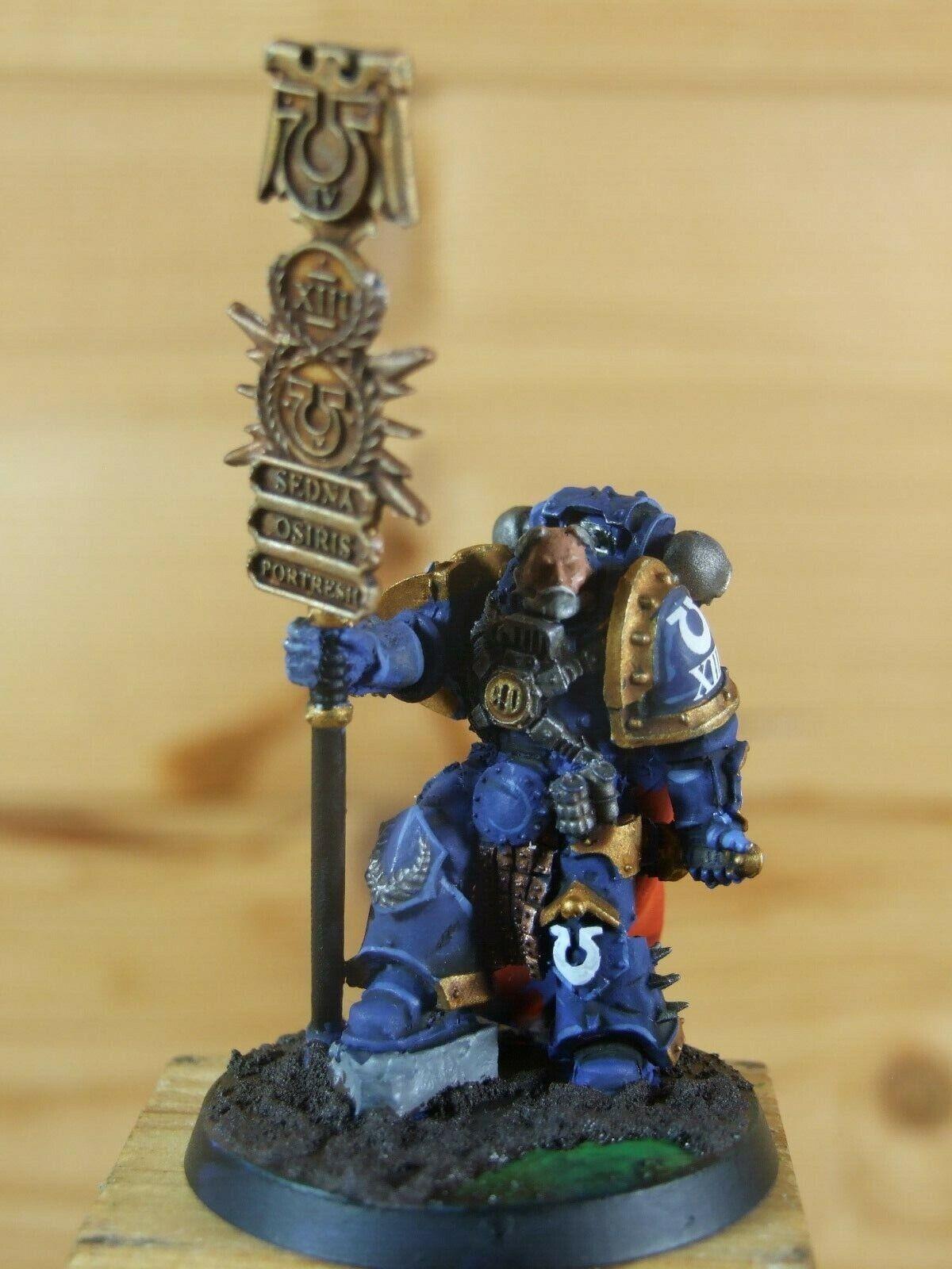 Forgeworld bien pintados Warhammer Ultramarines Legión Herald (L)