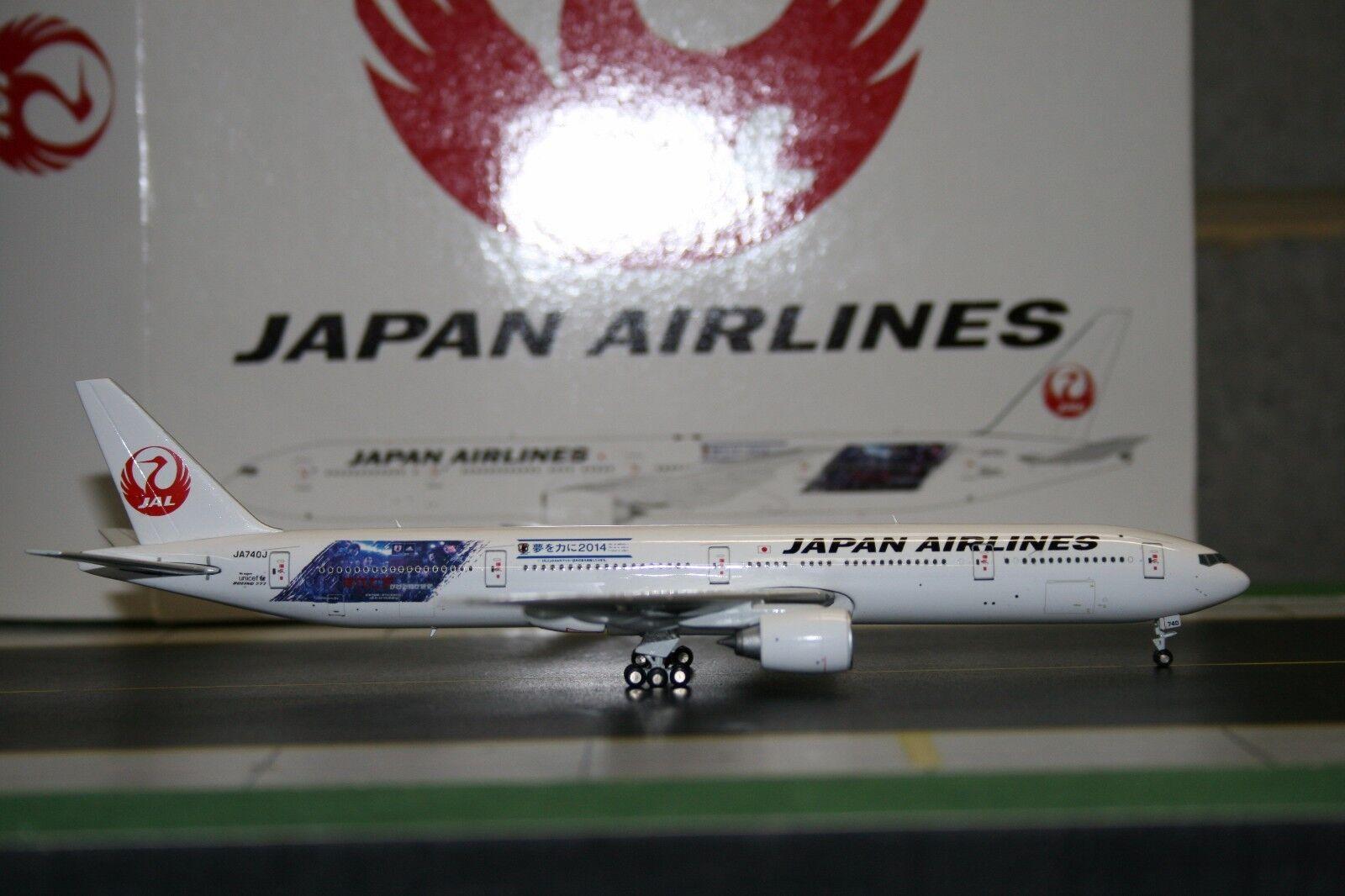 JC Wings 1 400 JAL Japan Airlines Boeing 777-300ER JA740J 'Samurai' (XX4865)