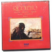 SEALED VERDI: Anna Moffo / Robert Merrill RIGOLETTO LP RCA US 1964 Box Set