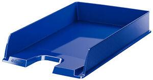 Leitz Briefkorb A4 Europost blau Ablagekorb Briefablage stapelbar 1 St