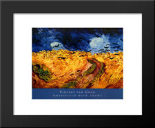 MUSEUM ART PRINT Wheatfield with Crows Vincent van Gogh 14x11