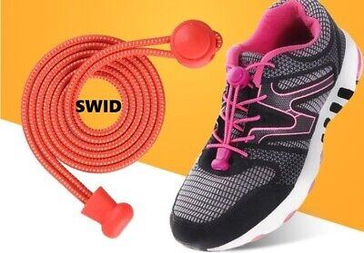 Sport Schuh Schnellverschluss für Schnürsenkel Schnellschnürsystem Weiß 1