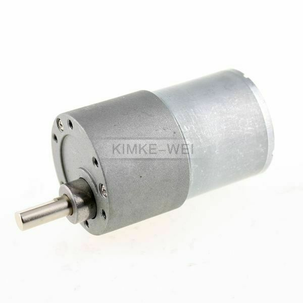 37mm Getriebe Motor elektrisch 12V 50 U/min für Modellbau