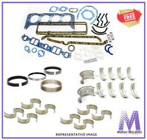 1988-1992 Ford BBF 460 7.5L OHV V8 ReRing Kit w//Full Gasket Set Rings Bearings FITS